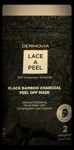 Makeup - DERMOVIA - LACE A PEEL BLACK BAMBOO CHARCOAL PEEL